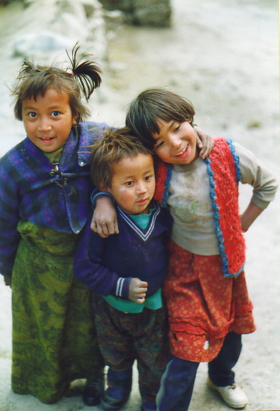 Children of Kagbeni