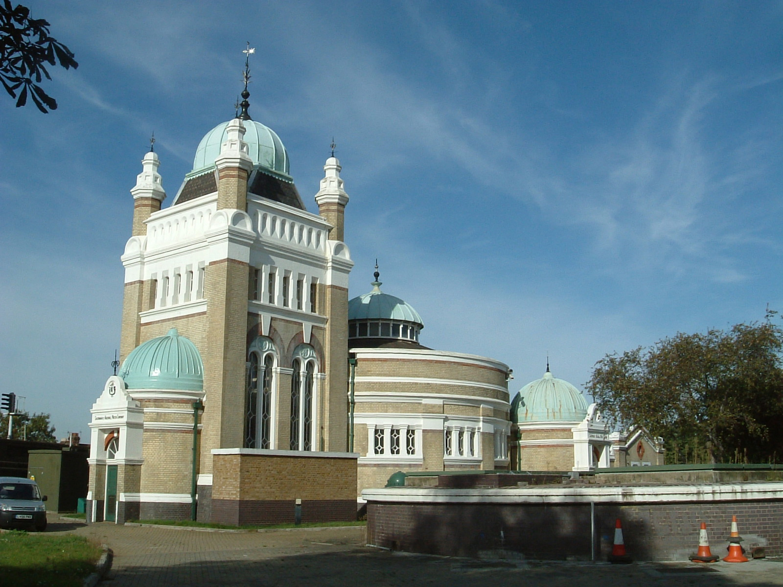 Streatham Pumping Station, built in 1888