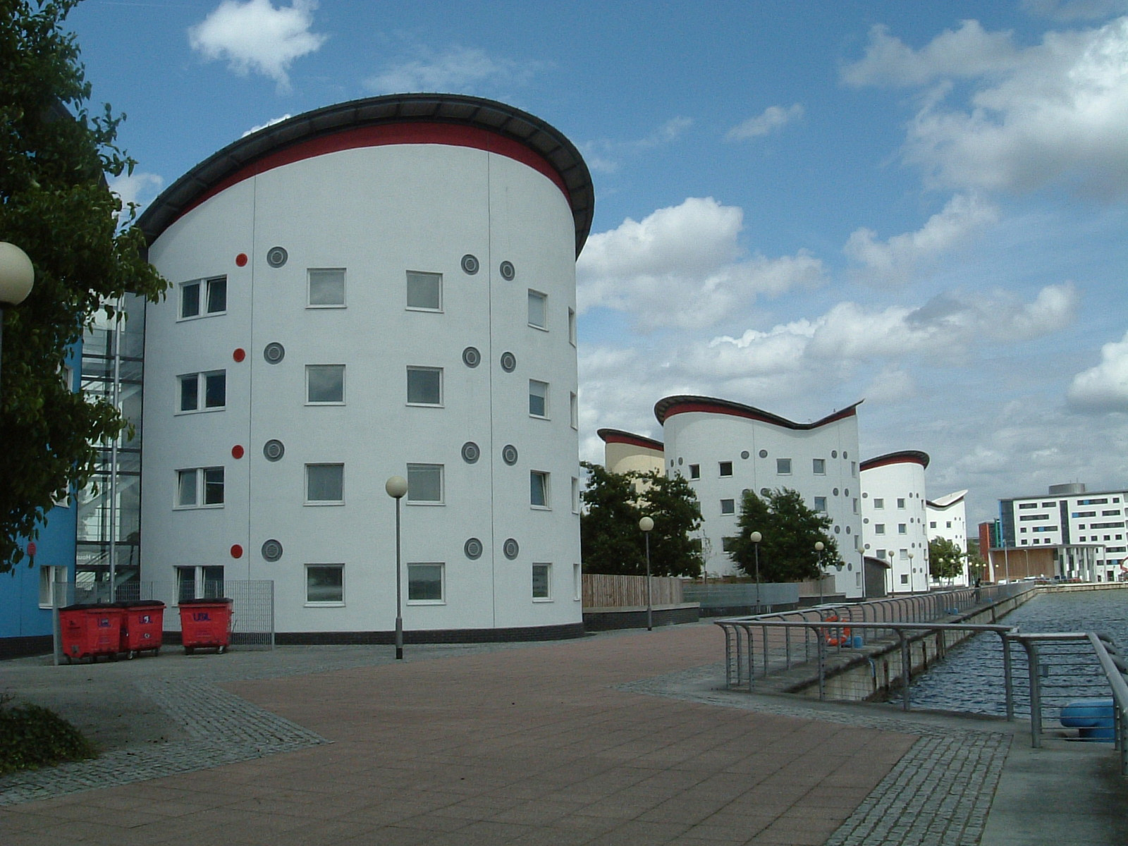 The Docklands Campus of the University of East London