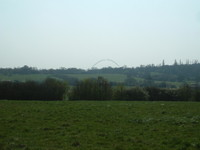 Wembley Stadium from Fryent Country Park