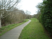 The path along Mutton Brook