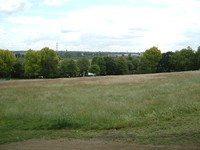 The Lea Valley from Springfield Park