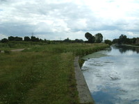 The Lee Navigation by Walthamstow Marsh Nature Reserve