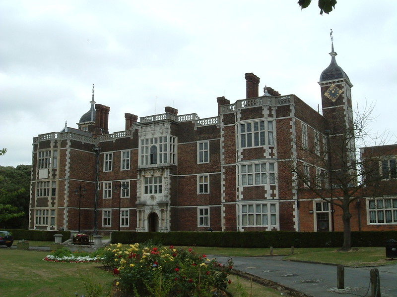 The front of Charlton House