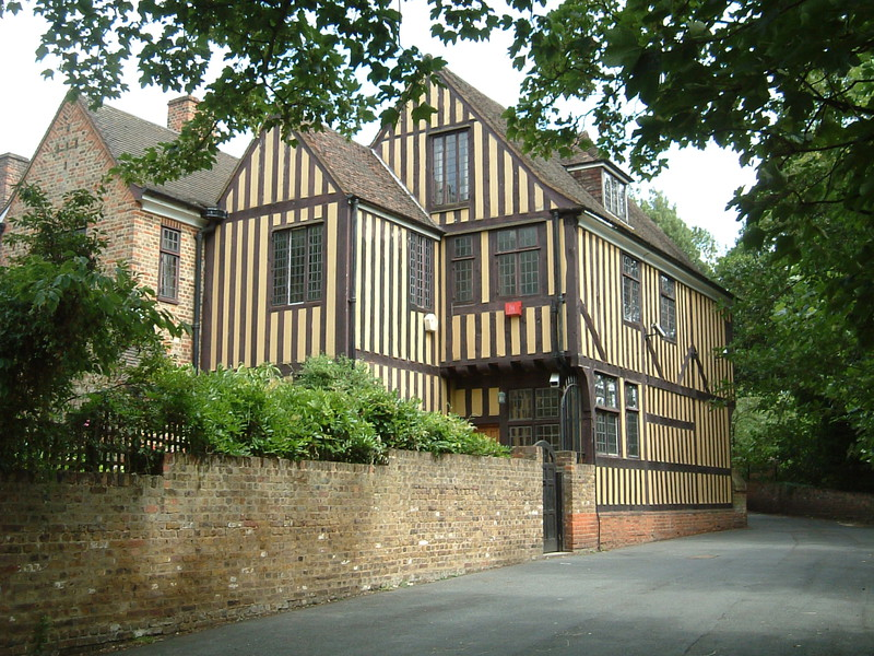 The Lord Chancellor's Lodgings by the entrance to Eltham Palace