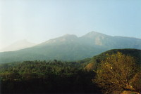 Gunung Rinjani at 7am