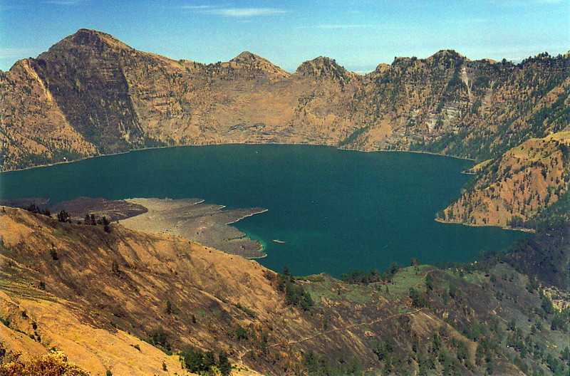 The main crater, Gunung Rinjani