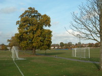 Playing fields in Underhill, south Barnet