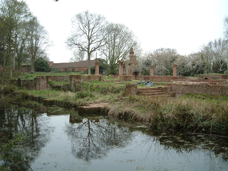 The moated manor house in Scadbury Park