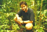Mark in the rainforest